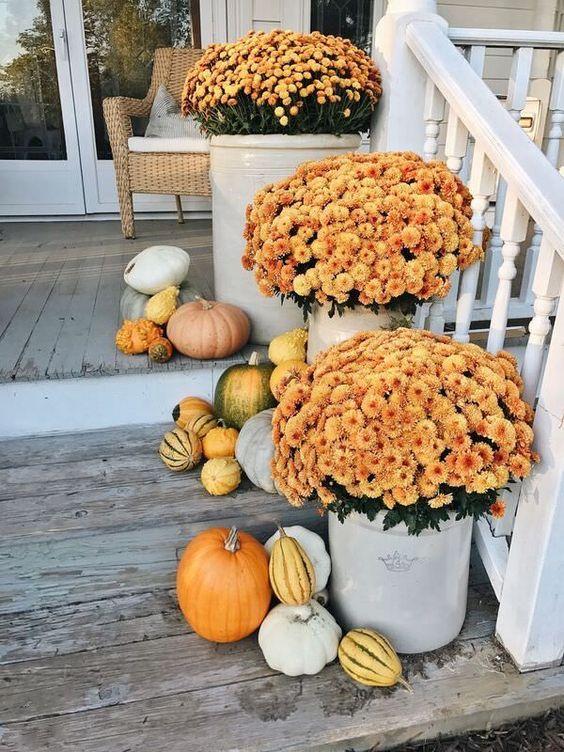 deco entree maison jardinerie riera automne8